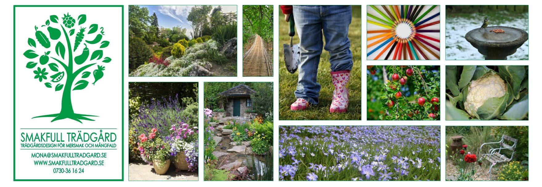 Smakfull trädgård